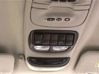 New Overhead Console