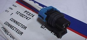 Outside Temperature Sensor Cable 2 - With Part Numbers